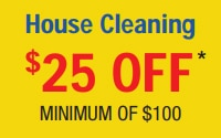House Cleaning - $25 OFF