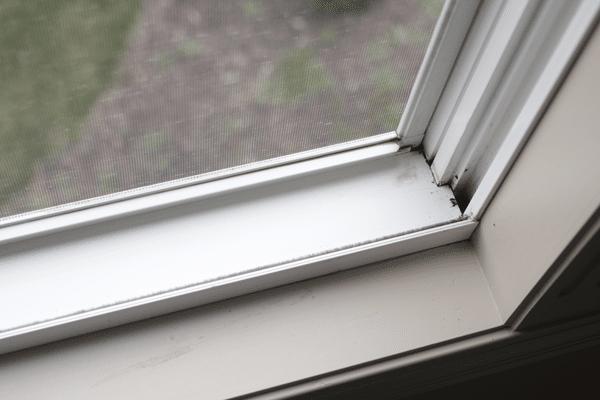 window tracks clean